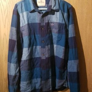 Hollister long sleeve button up